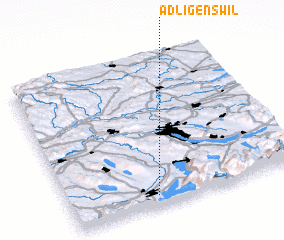 3d view of Adligenswil