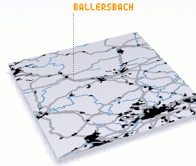 3d view of Ballersbach