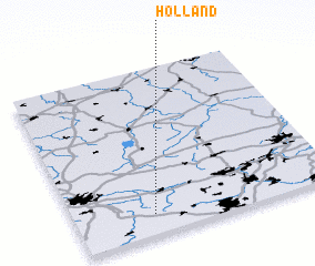 3d view of Holland