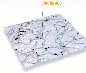 3d view of Ödenwald