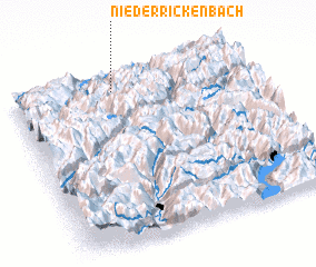 3d view of Niederrickenbach
