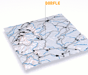 3d view of Dörfle