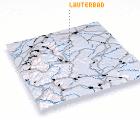 3d view of Lauterbad