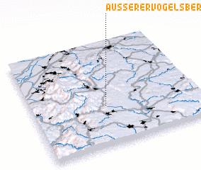 3d view of Äußerer Vogelsberg