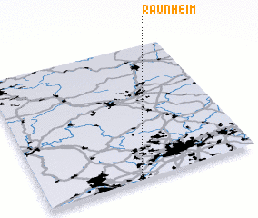 3d view of Raunheim