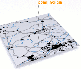 3d view of Arnoldshain