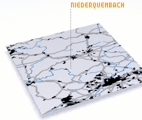 3d view of Niederquembach