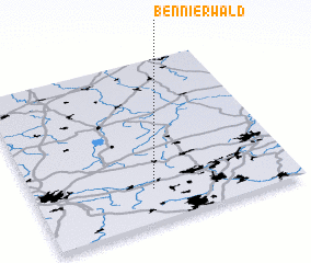 3d view of Bennierwald