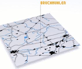 3d view of Bruchmühlen