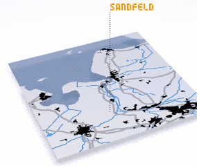 3d view of Sandfeld