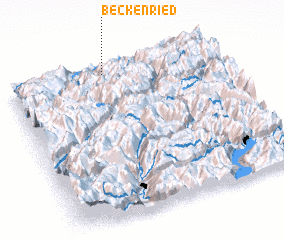 3d view of Beckenried