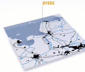 3d view of Atens