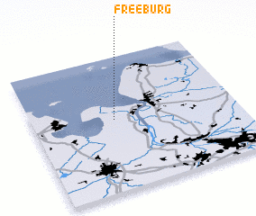 3d view of Freeburg