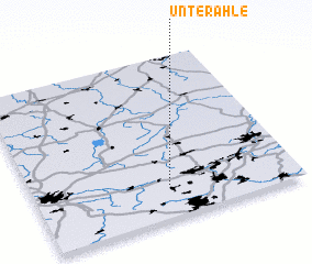 3d view of Unterahle