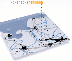 3d view of Hohenbökenermoor