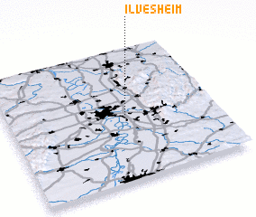 3d view of Ilvesheim