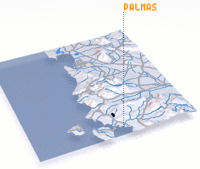 3d view of Palmas