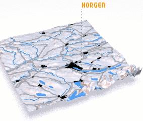 Horgen Switzerland map nonanet
