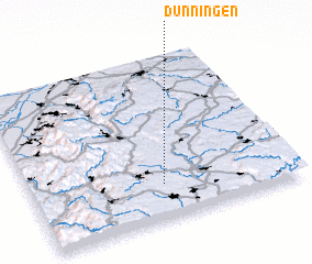 3d view of Dunningen