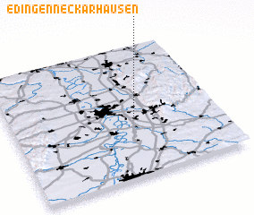 3d view of Edingen-Neckarhausen