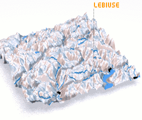 3d view of Le Biuse
