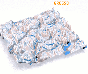 3d view of Gresso
