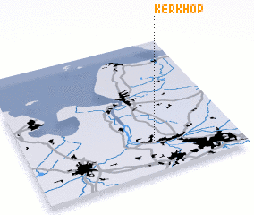 3d view of Kerkhop