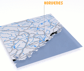 3d view of Horvenes