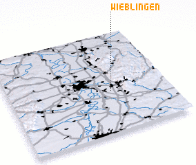 3d view of Wieblingen