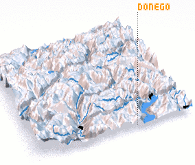 3d view of Donego