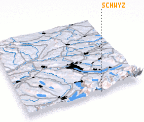3d view of Schwyz