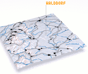 3d view of Walddorf