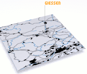 3d view of Gießen