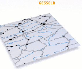 3d view of Gesseln