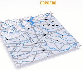 3d view of Corgeno
