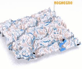3d view of Moghegno