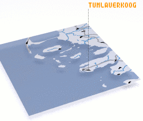 3d view of Tümlauer Koog