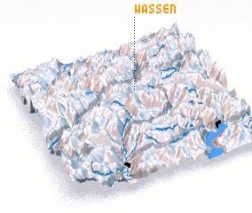 3d view of Wassen
