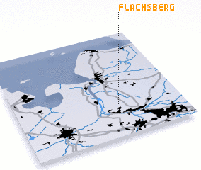 3d view of Flachsberg