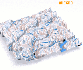 3d view of Avegno