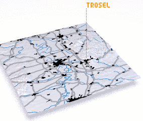 3d view of Trösel