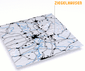 3d view of Ziegelhausen