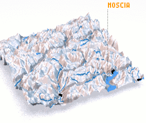 3d view of Moscia