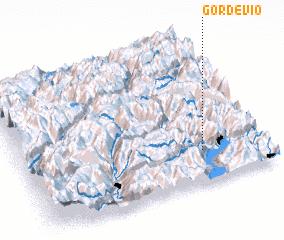 3d view of Gordevio