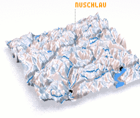 3d view of Nuschlau