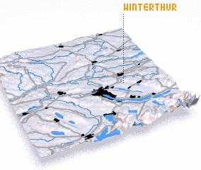 Winterthur Switzerland map nonanet