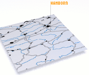 3d view of Hamborn