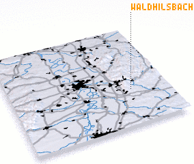 3d view of Waldhilsbach