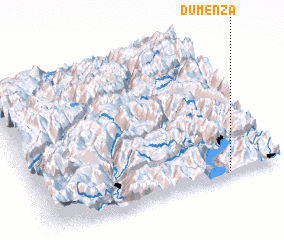 3d view of Dumenza