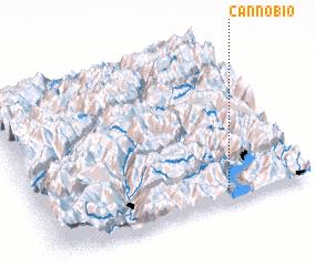 3d view of Cannobio